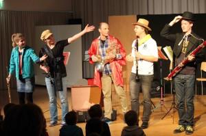 Gelungene Premiere mit dem pentaTon Quintett! Foto: Tom Steiner
